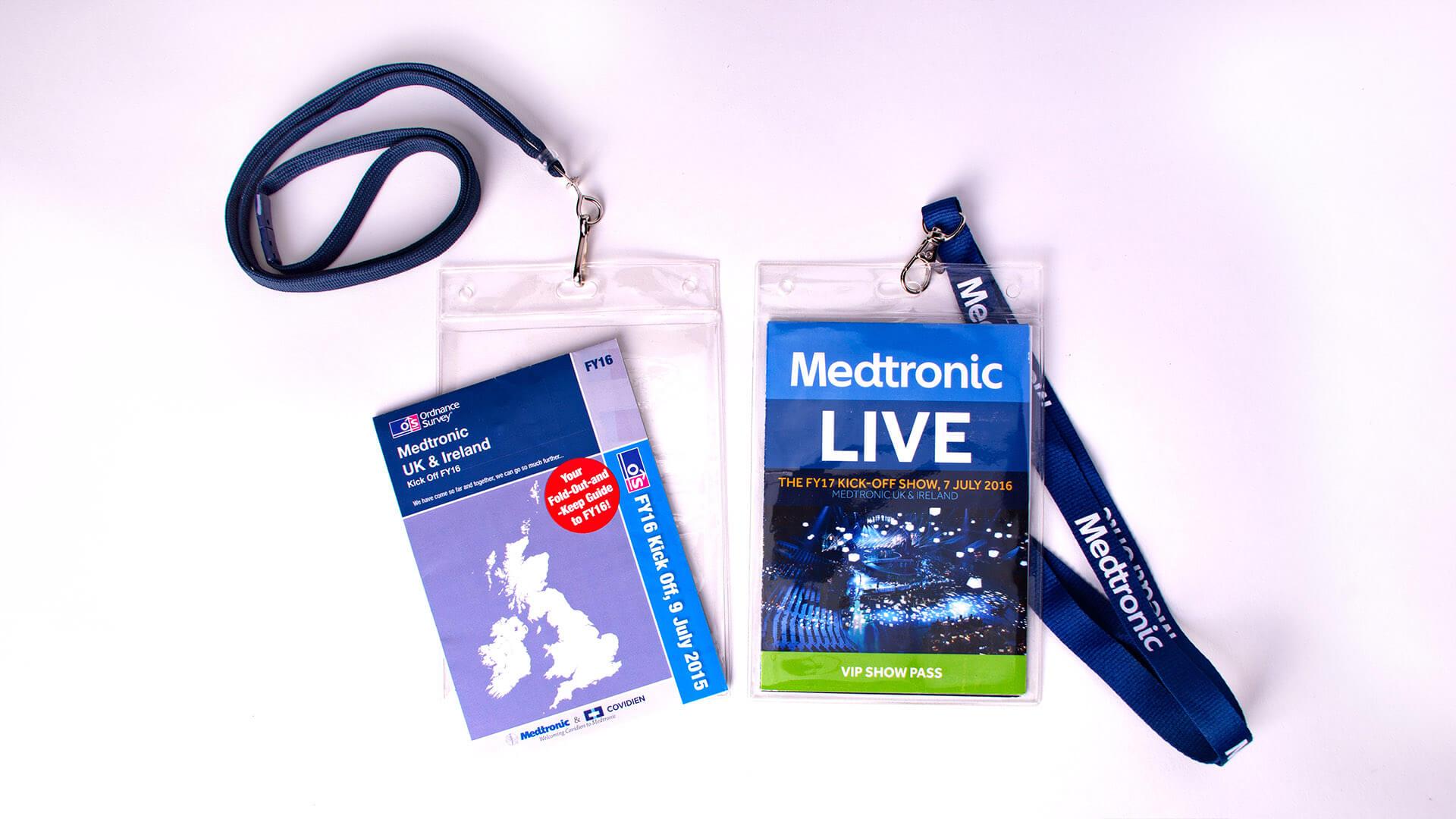 Medtronic FY event delegate passes