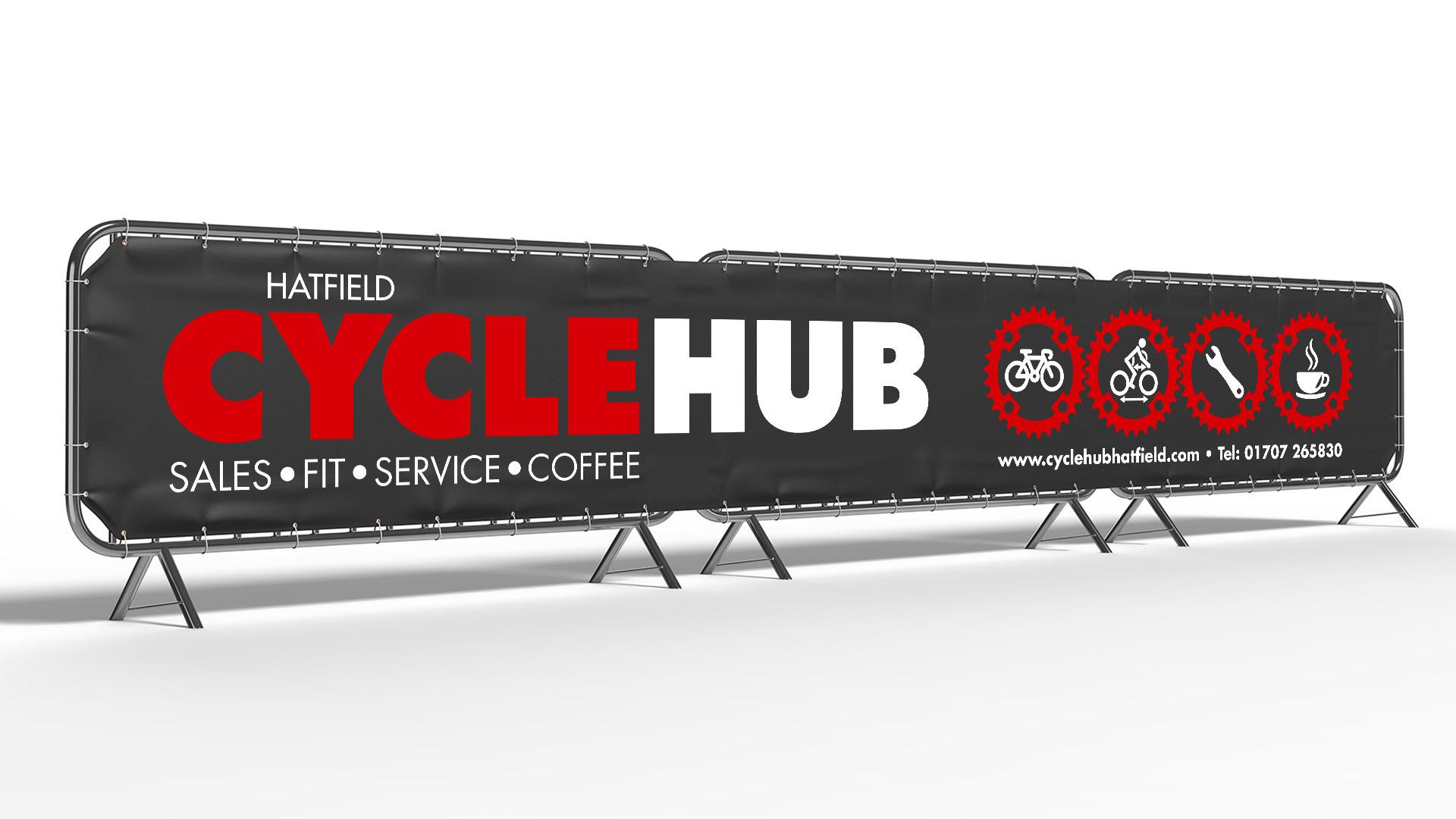 Hatfield Cycle Hub banner