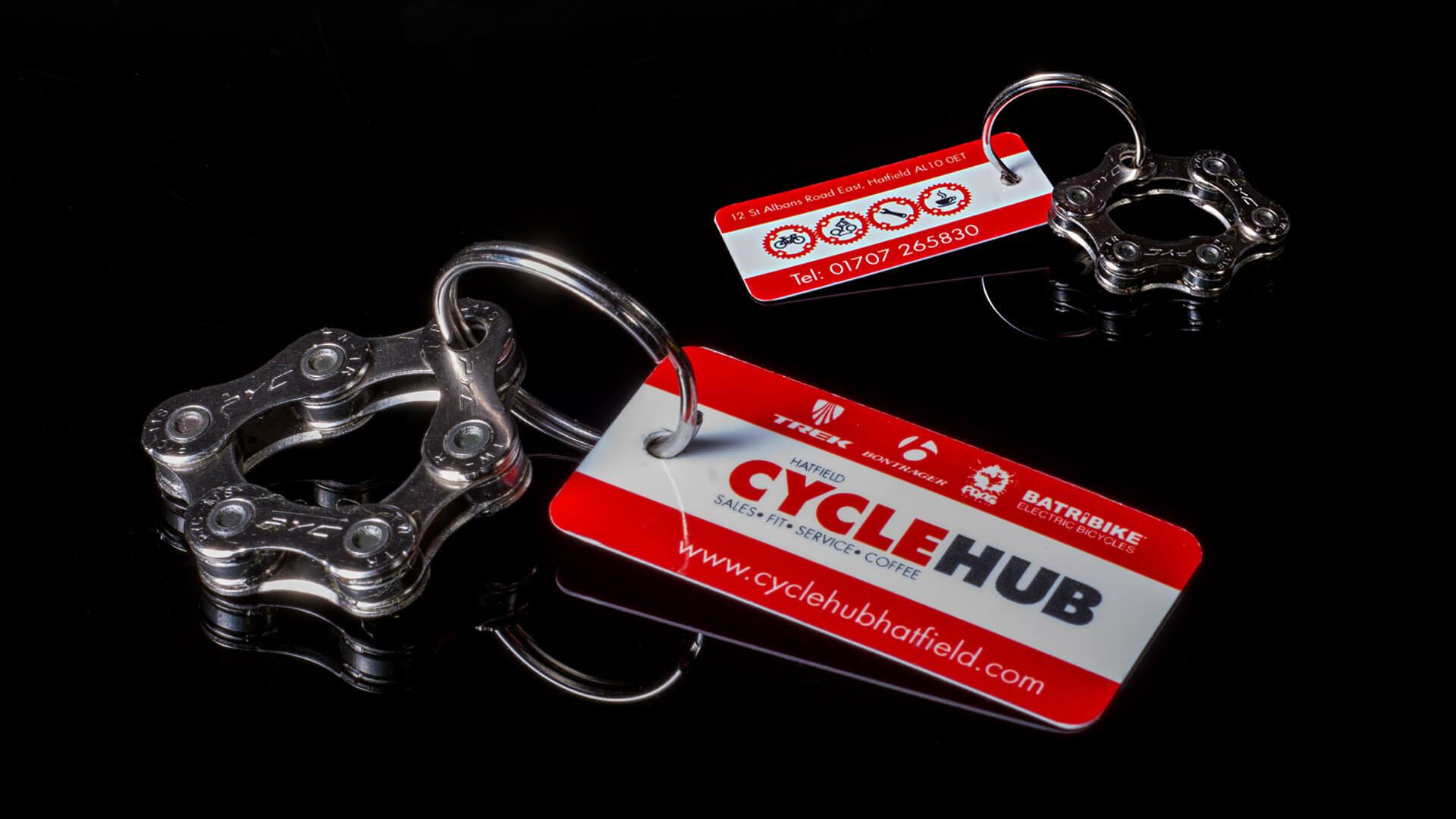 Hatfield Cycle hub key fob