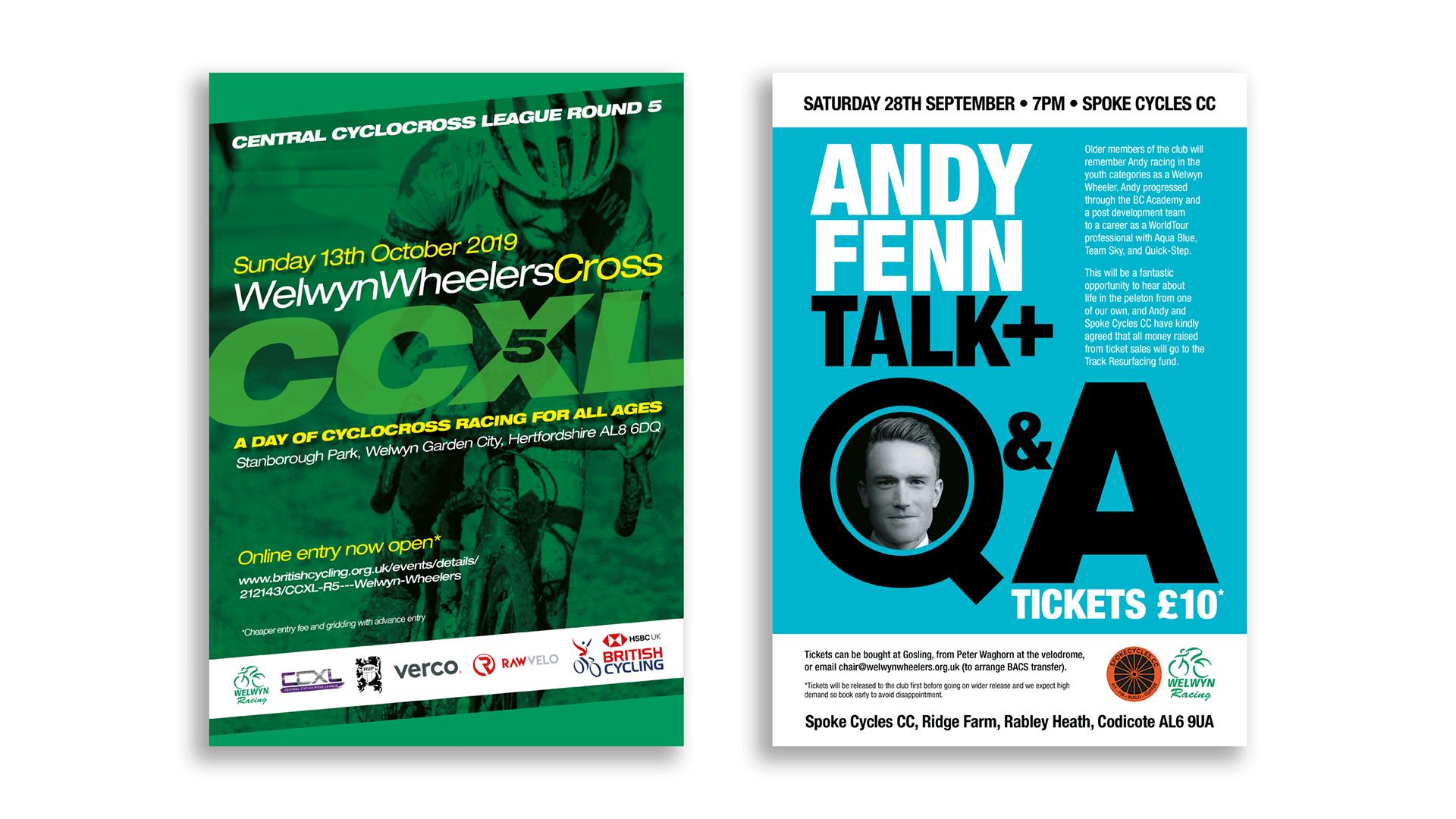 Welwyn Wheelers leaflets